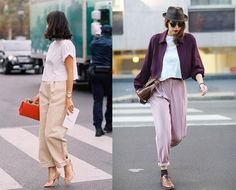 Prendas de la temporada: voluminous trousers