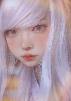 S Girls, Cute Girls, Cool Girl, Ulzzang Korean Girl, Ethereal Beauty, Grunge Girl, Girls Characters, Cute Makeup, Cosplay Wigs