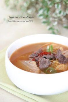 배추국 맛있게 끓이는 법 / 구수한 소고기배추된장국 : 네이버 블로그