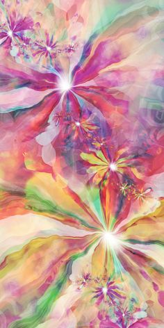 UltraFractal Flowers on Behance