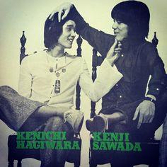 """ Kenichi Hagiwara and Julie. Vintage Records, Music People, Wild Ones, Cute, Movie Posters, Fictional Characters, Boyfriends, Jewel, Kawaii"