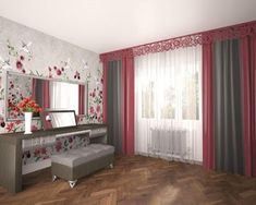 Whatever the room, almost each has windows that require decoration. The most affordable and attractive decor option is curtains design. Living Room Modern, Living Room Interior, Home Interior Design, Living Room Designs, Types Of Curtains, Cool Curtains, Valance Curtains, Room Furniture Design, Living Room Furniture