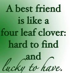 "i""m LUCKY TO HAVE THESE KIND OF FRIENDS"