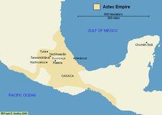 Map: The Aztec Empire