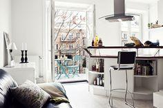 Jurnal de design interior - Idee de amenajare a unei garsoniere de 26 m²