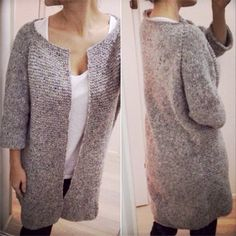 Knitted harvest jacket Tweedy | Lutter Idyll | Bloglovin