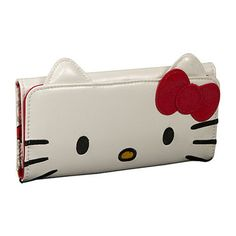 Big Bow Heart Wallet - Hello Kitty, my daughter would love this.  She is crazy about Hello Kitty.