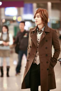 Hyun joong kim. I mostly just want to steal his coat.