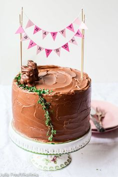 This malted chocolate layer cake is the cake you've been waiting for! Simply the best!
