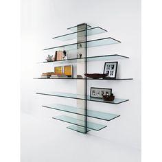 49 best glass shelves and floating glass shelving units images rh pinterest com