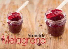 La Ricetta della Marmellata di Melagrana Marmalade, Cream Cake, Fett, Pomegranate, Preserves, Creme, Cherry, Pudding, Vegetarian