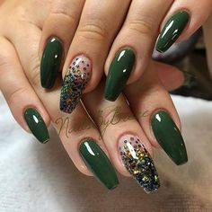 Beautiful Colorful Nail Design Ideas for Spring Nails 2018 # Spring Nails The post Gorgeous Colorful Nail Design Ideas for Spring Nails 2018 & appeared first on Nails. Green Nail Designs, Colorful Nail Designs, Nail Art Designs, Colorful Nails, Hot Nails, Swag Nails, Grunge Nails, Winter Nails, Spring Nails