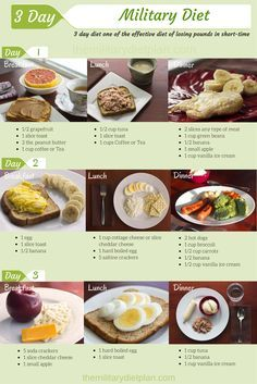 How to Lose 10 Pounds in 3 Days with this Special Military Diet? check it out...