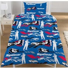 TOP GEAR TESTED STIG REVERSIBLE SINGLE BED DUVET QUILT COVER BEDDING SET - NEW: Amazon.co.uk: Kitchen & Home