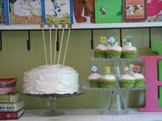 This blog post is on a book themed birthday party but it has amazing ideas that could be used at school or for a book club party. Love it!