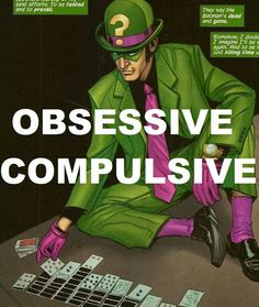 The Riddler: Obsessive Compulsive Black Bat, Big Black, Riddler, Joker And Harley, Dark Knight, Rogues, Geeks, Dc Comics, The Darkest