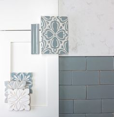 Design Inspiration Find design inspiration for your next kitchen or bathroom remodel and get ideas on how to pair handmade tile with cabinets and countertops Bad Inspiration, Bathroom Inspiration, Interior Design Inspiration, Cabinets And Countertops, Cambria Countertops, Cambria Torquay, Handmade Tiles, Bath Remodel, Guest Bathroom Remodel