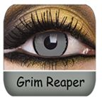 Grim Reaper Contacts Looks So Freaky. $33.99 A Pair :P