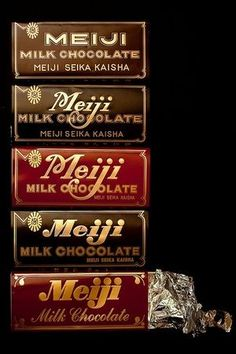 Chocolate / Japanese brand :Meiji Milk Chocolate