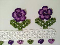 Newest Towel Edge Crochet Needlework Models Crochet Borders, Cross Stitch Borders, Filet Crochet, Crochet Lace, Crochet Patterns, Cross Stitch Tattoo, Viking Tattoo Design, Sunflower Tattoo Design, Crochet Tablecloth