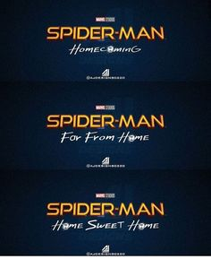 The first two are confirmed, obviously. I'm gonna cry if the last one turns out to be true! Avengers Memes, Marvel Memes, Marvel Avengers, Marvel Comics, Spiderman Movie, Fanart, It Goes On, Comic Book Characters, Amazing Spider