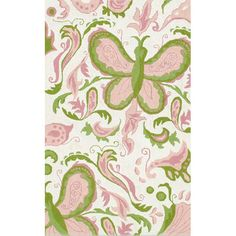 Butterfly Paisley Rug from PoshTots.... I've always dreamed of decorating my lil girl's rm n paisley