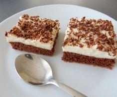 Eskymo řezy Sweet Desserts, Tiramisu, Food And Drink, Pudding, Baking, Ethnic Recipes, Nova, Florida, Retro