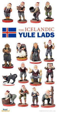 Icelandic Yule Lads