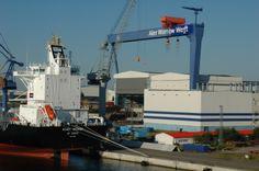 "Princess ""Star"" Ship about to dock at Warnemonde, Germny."