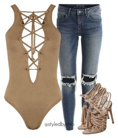 Untitled #418 by chloe-jp on Polyvore featuring polyvore, fashion, style, WearAll, VILA and clothing