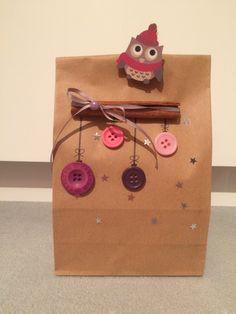 Weihnachtsgeschenk -Tüte