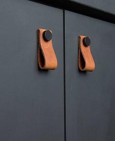 SODIAL R 1 x Tirador de muebles Tirador concha Tirador de cajon Tirador de puerta Tirador de gabinete Tirador Negro