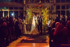 InStyle's Kahlana Barfield weds in Brooklyn and custom in Christian Louboutins.