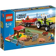 LEGO City Set #7684 Pig Farm & Tractor