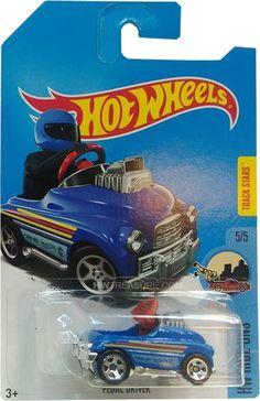 Pedal Driver Hot Wheels 2017 Treasure Hunt - HWtreasure.com