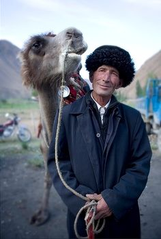 Man of western Xinjiang