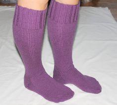 Knee High Wool Socks  Wool Knee High Socks  Leg by Grandmasandeze