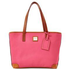ca049906747da Dooney   Bourke Pebble Grain Leather Charleston SHOPPER in Hot Pink