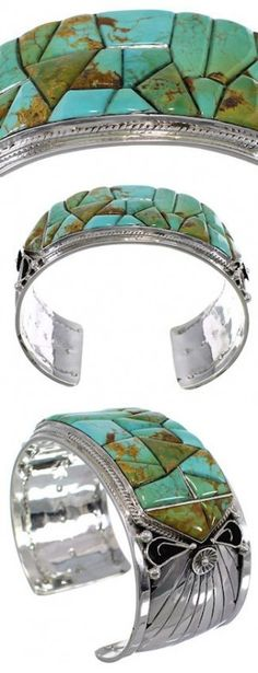 Turquoise Jewelry | Southwest Jewelry |Turquoise Bracelet | Silver Cuff