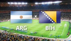 Argentina contra Bosnia-Herzegovina Brasil 2014