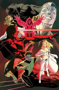 Uncanny X Men # 600 Variant Cover by Kris Anka Marvel Comics, Hq Marvel, Comic Book Covers, Comic Books Art, Comic Art, Book Art, X Men, Emma Frost Costume, Videogames