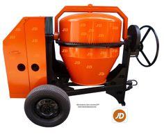 Mezcladora para Concreto JD, Capacidad Bulto y Medio