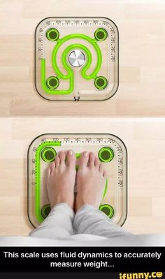 This scale uses fluid dynamics to accurately measure your weight - FunSubstance Maybe Tomorrow, Fluid Dynamics, Material Girls, Just For Fun, Cool Gadgets, Best Funny Pictures, Trending Memes, Funny Jokes, Fun Facts
