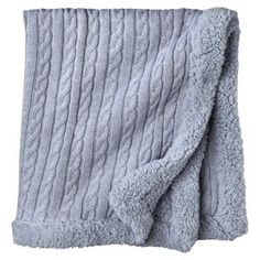 Circo Heirloom Cable Knit Baby Blanket