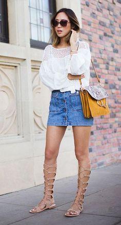 Blog de Moda / Estilo / Beleza | Sandália Gladiadora