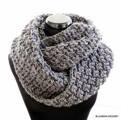 http://www.ravelry.com/patterns/library/circle-unisex-scarf-chunky #crochet #crochetscarf #crochetpattern #infinity #chunkycrochet #unisex #scarf