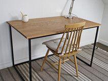 Escritorio de madera #deco #home #office #design #diseño #hechoamano #handmade #DaWanda
