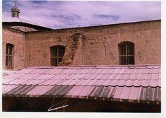 Detalle de la parte alta de la espalda de la Catedral.