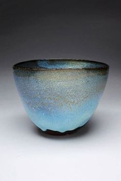 Craig Edwards, 'Up with the birds', 2012, Spring Creek clay (local stoneware) with tessha and chun glaze. #Studentoftheredbrownearth #Ceramics #Pottery