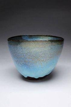 Craig Edwards, 'Up with the birds', 2012, Spring Creek clay (local stoneware) with tessha and chun glaze. #Studentoftheredbrownearth #Ceramics #Pottery